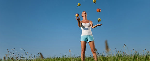 Gesund und fit mit einer ausgewogenen Ernährung