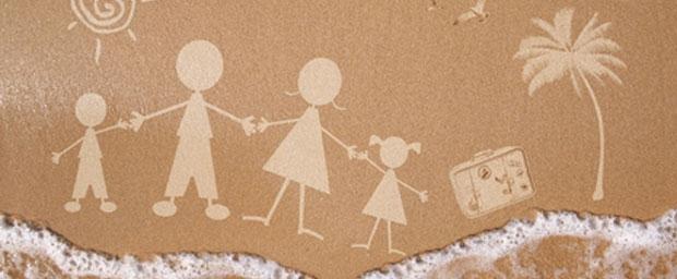 Gesunder und erholsamer Familienurlaub